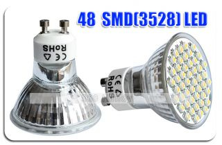 10x GU10 20/38/60 LED 4W/6W High Power Bulbs Spot Light
