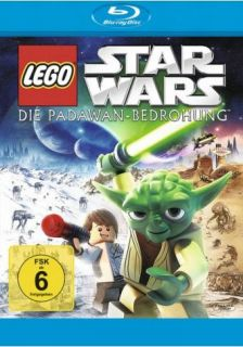 Lego Star Wars   Die Padawan Bedrohung   BLU RAY NEU OVP