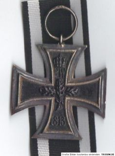 Weltkrieg Orden EK II Eisernes Kreuz 1914 iron cross Hersteller KO