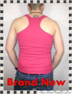 BRAND NEW PARTY / FITNESS TANK TOP MUSKELSHIRT ROSA GR. S XXL 3290