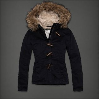 Authentic New Abercrombie & Fitch AF Jordan Winter Jacket Retail $280