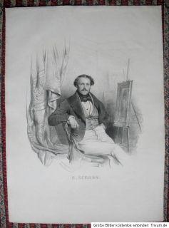 1839 Sebron, Hippolyte Victor Valentin Lithographie von C. Baugniet