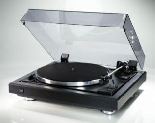 Plattenspieler Dual CS 505 Semiautomatik Analog Schwarz 4260114740155