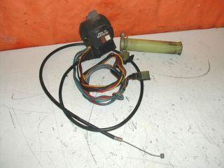 KAWASAKI GPZ 1100 UT LENKERSCHALTER GAS GRIFF ZUG (496)
