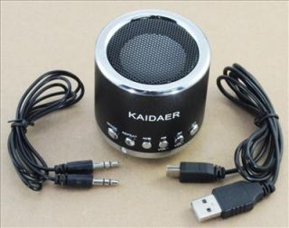 Kaidaer Portable Speaker Music w/fm radio mini Lautsprecher Iphone
