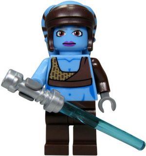 LEGO Star Wars Figur Jedi Aayla Secura™ (aus Bausatz 8098) mit