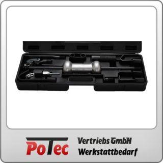 Ausbeulsatz Ausbeulhammer Ausbeul Werkzeug 11 tlg. mit Gleithammer zum