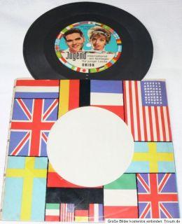 Single 7  Ted Herold + Lill Babs   Wir jungen Leute