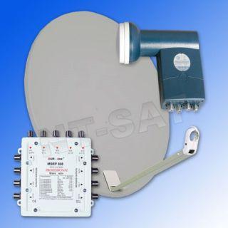 Sat Anlage Energie Spar mit Multischalter MSRP 508