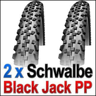 Jack PP Falt 24 x 2,10 / 54 507 Reifen tire Fahrrad Schwarz