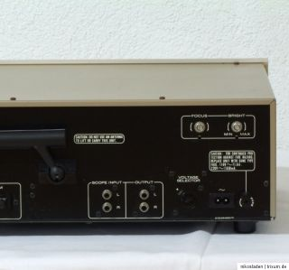 Marantz Model ST610 Tuner mit Oszilloskop & Orig. Owners Manual / BDA
