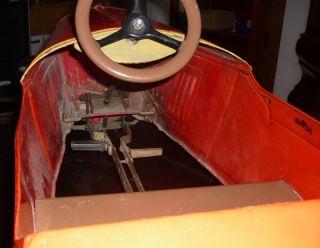 FERBEDO Tretauto 30er Jahre vintage Pedal Car 1930 Roadster Blech Rar