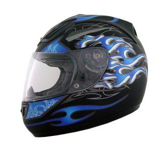 Motorradhelm H510, Blau/Schwarz, Größe XL, NEU