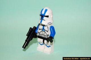 Lego Star Wars Figur Minifigur 501st Legion Clone Trooper mit Waffe
