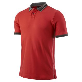 NIKE DRI FIT BORDER COLLECTION IMPERIAL GOLF POLO SHIRT