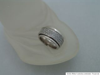 Original PIAGET Possession Ring 18K Weißgold 120 Brillanten zus. 2