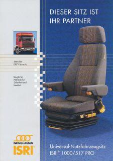Isri 1000/517 Pro Prospek Siz f. Nuzfahrzeuge 4 Seien brochure