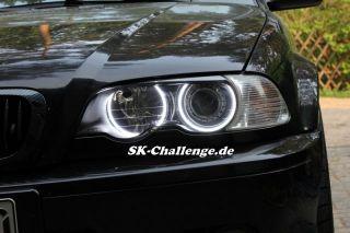 4x SMD LED ANGEL EYES Set Kit für BMW e36,e38,e39 und e46 mit Xenon