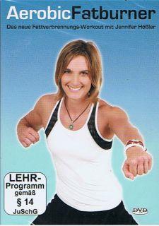 Aerobic Fatburner   Fitness DVD NEU OVP   Jennifer Hößler