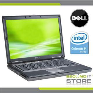 Dell Latitude D520 * Intel Celeron M 430 1,73 GHz * 1 GB RAM * 60 GB