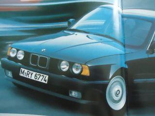 BMW 524d E34 Prospek brochure