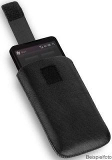 Exkl. Leder Slim Case f Samsung Galaxy Y Duos S6102 Tasche Etui