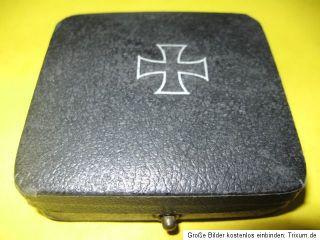 Orginal Orden Eisernes Kreuz 1 Klasse leer 7cm schwarz Militär 1 2WK