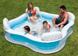 Intex Familien Pool Planschbecken Schwimmbecken 750