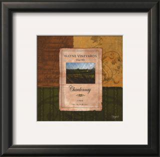 Wine Label Print