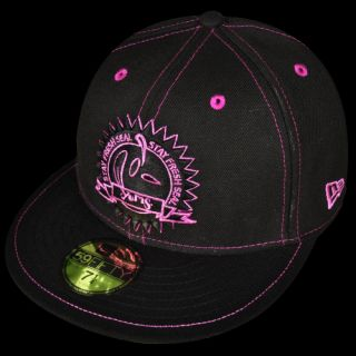 Yums New Era Stay Fresh Fitted Cap Schwarz Lila(70925)