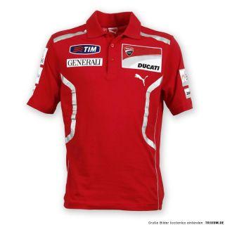 DUCATI Puma Polo T Shirt Replica GP ´11 ROSSI Hayden Moto GP NEU