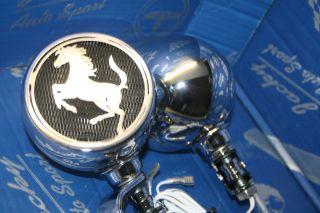 Lautsprecher 2D Mustang 8 Ohm Motorrad Trike Quad Motorcycle Radio