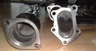 Edelstahl Auspuff Endschalldämpfer VA ESD V2A Subaru Impreza Turbo GT