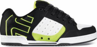 Etnies Schuhe Sneaker Piston black white green Gr 40 41 42 43 44 45 46
