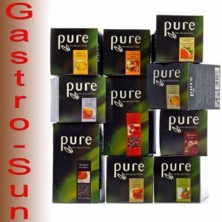PURE Tea Selection alle 10 Tchibo pure Tee Sorten, 245 Tees (20cent