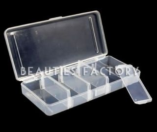Empty 25 Space Nail Art Tools Tip Storage Box Ccase #363K