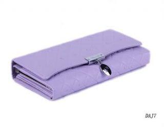 Neu Süß 8 Farben Damen Länge Stile Geldbörse Brieftasche Leder