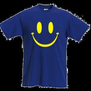 Fun Shirt SMILEY gelber Druck T Shirt S XXL Farben 565