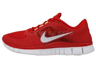 Nike Free Run 3 Gym Red Barefoot Mens Running Shoes 510642 600