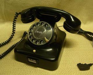 altes Telefon W48 Telephone W 48 Fernsprecher restauriert antik alt