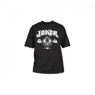 Joker Brand   Old E Tee   T Shirt   Schwarz   Neu   SHK