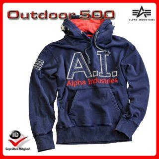 Alpha Industries AI Hoody 123302 Weicher Hoodie tolle Qualität