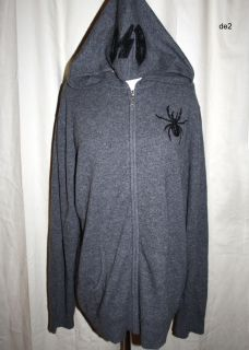 NEW $559 A&G AMAL GUESSOUS ROCK&ROLL 100%CASHMERE SPIDER WEB SWEATER