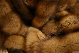 559 Sable Fur Blanket Throw Rug Bedspread Comforter
