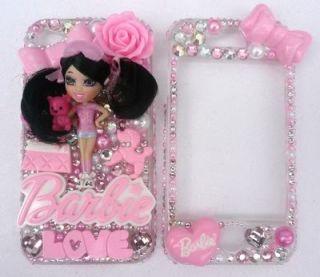 Mini Barbie Love Slippers Teddy Bear Dog Eyeshadow Fits i Phone 3 4