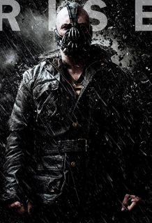 BANE THE DARK KNIGHT RISES   A GRADE REAL BLACK COW HIDE MOVIE LEATHER