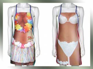 Küchenschürze Sexy Girls Party Schürze Bikini Strapse Unterwäsche