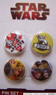 Star Wars Clone Wars Button Buttons Anstecker Pins Party Fan