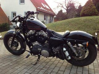 Sitz seat sitzbank für Harley® forty eight ® 48 72 sportster