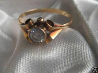 Schöner Ring 585er Gold Goldring Rotgoldring